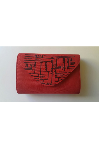The Red Lebanese Cities Bag
