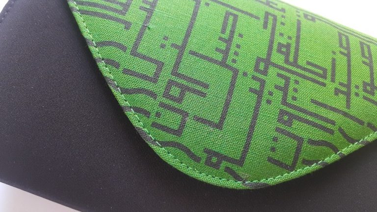 The Green And Black Lebanese Cities Bag