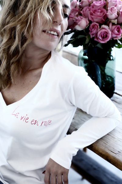 La Vie En Rose- White