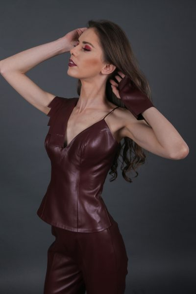 Degrade Burgundy Top