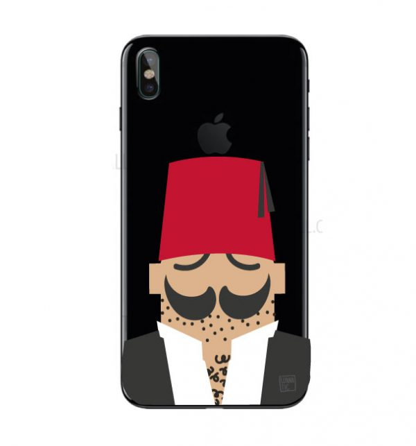 Abou El Abed Iphone Cover