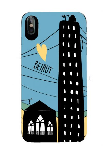 Beirut Love Iphone Cover