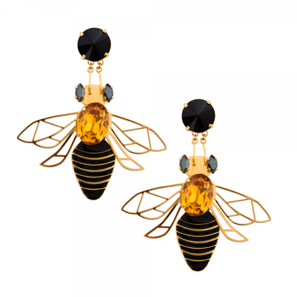Bee Large Earrings