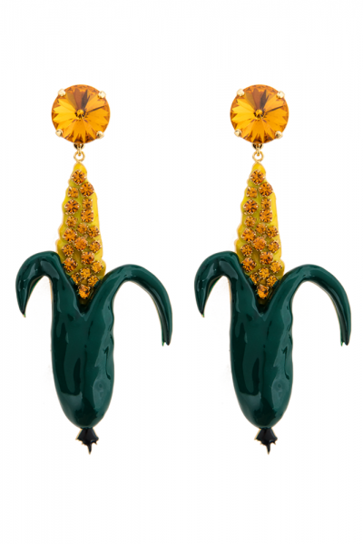 Corn Long Earrings