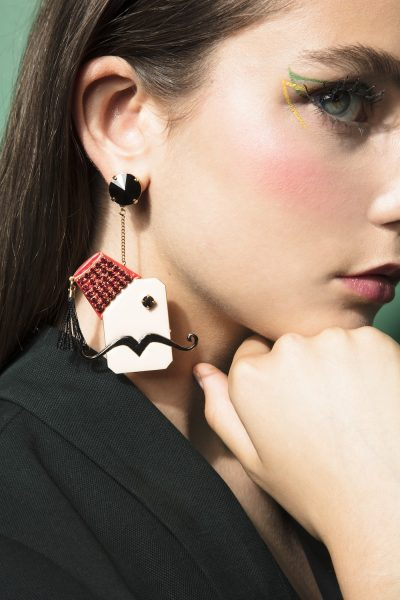 Abu Reda-Em Reda Large Earrings