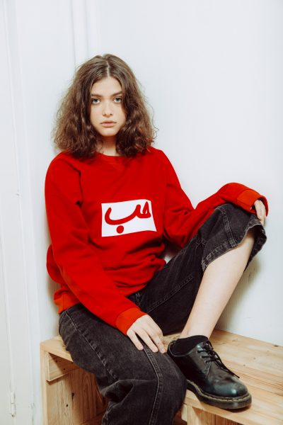 Hob Sweater In Red