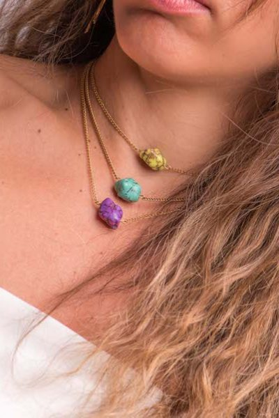 Ocean Breeze Multi Color Necklace