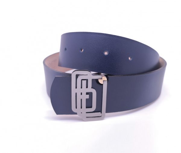 Genuine Leather Navy Belt