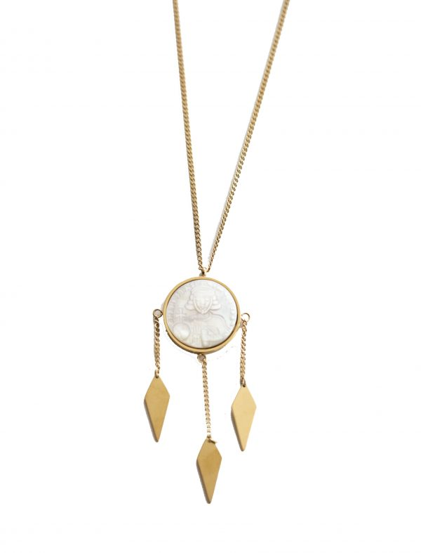 Nacre Blanc Necklace