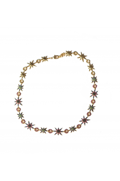 Yara Star Chocker In Gold