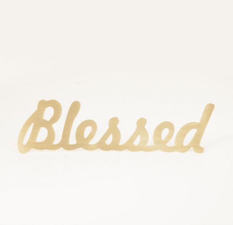 Blessed Brass Word