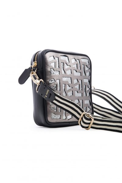 Upside Town Belt Silver Cross Bag