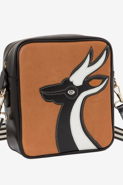 Gazelle Du Desert Cross Havane Bag