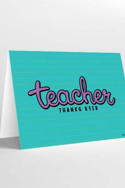 Teacher Thanks Ktir