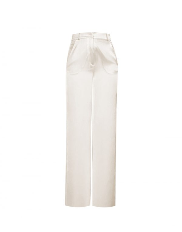 Caspien Off White Pants