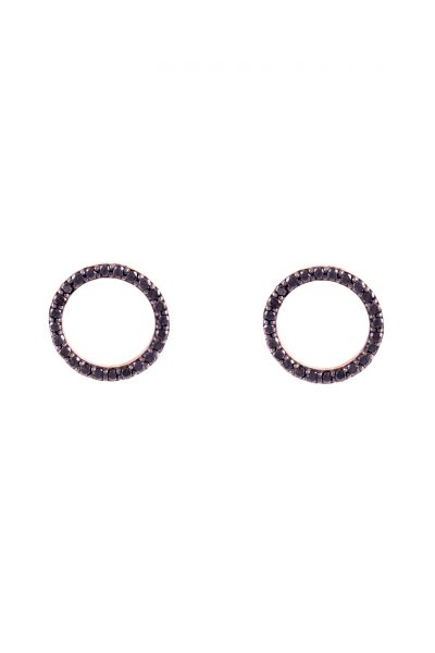 Circle of Diamond Earring