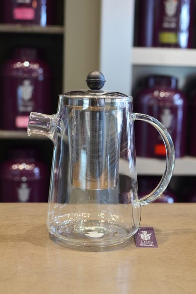 Globe Glass Teapot 1200ML
