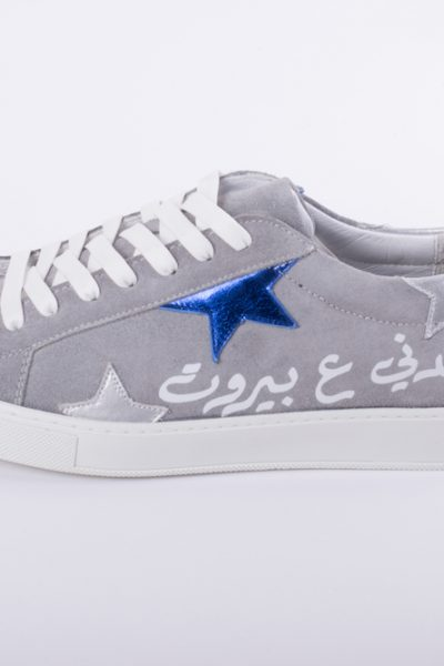 Men Grey Beirut Sneakers
