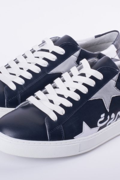 Men Navy Blue Beirut Sneakers