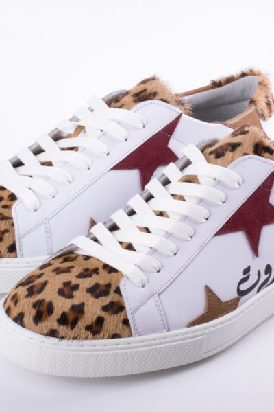 Men Poney Leopard Beirut Sneakers