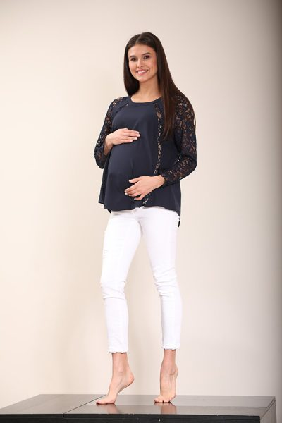 Laced Design Navy Top