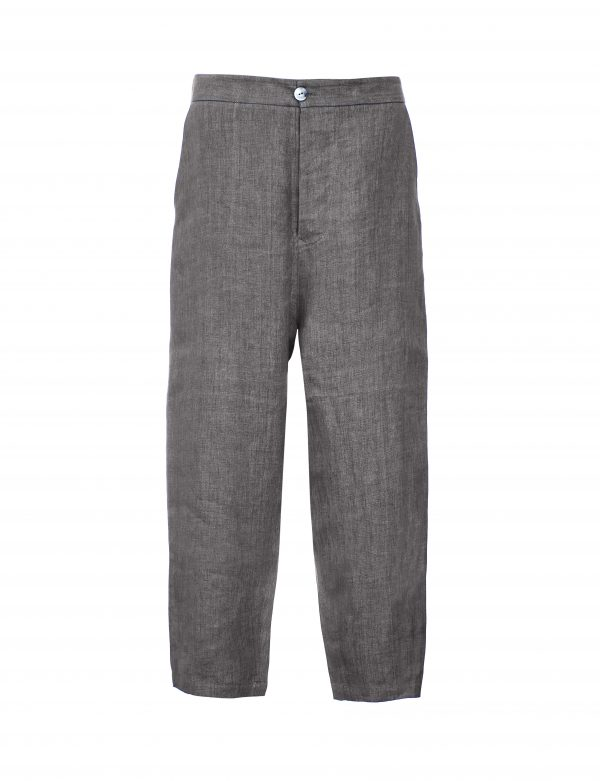 BENTAL 02 – LINEN TROUSERS | ASH