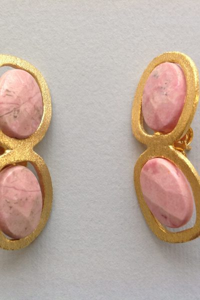 Bo PtiDragee Pink Earrings