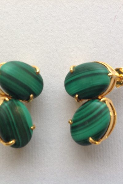 Bo PtiBonbon Green Earrings
