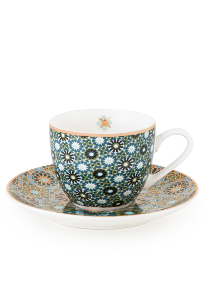 Cup With Saucer Andalusia 90ml -4 Pcs