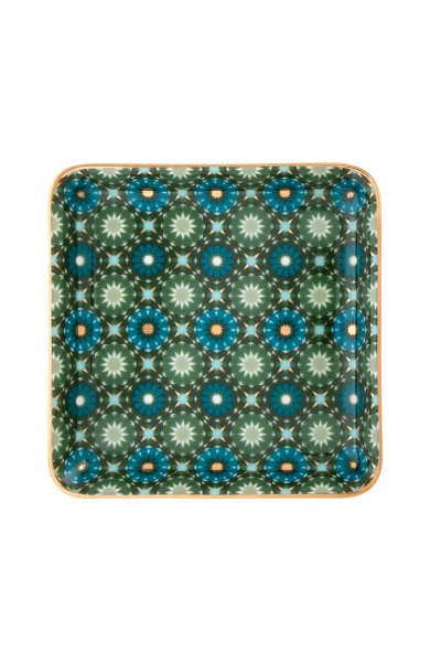 Square Platter Small  Andalusia