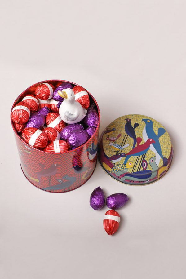 Easter Chocolate Tin Container