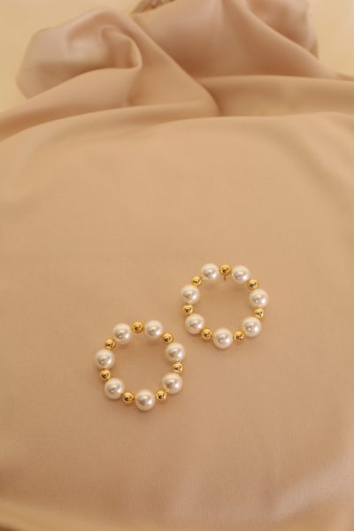Simis Pearl Hoops