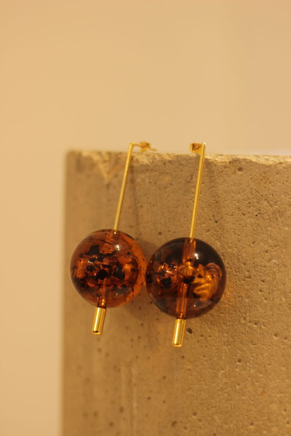 The Lucite Drops Earrings