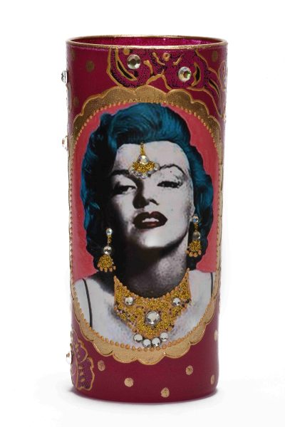 Pop Art Marylin Candle Holder