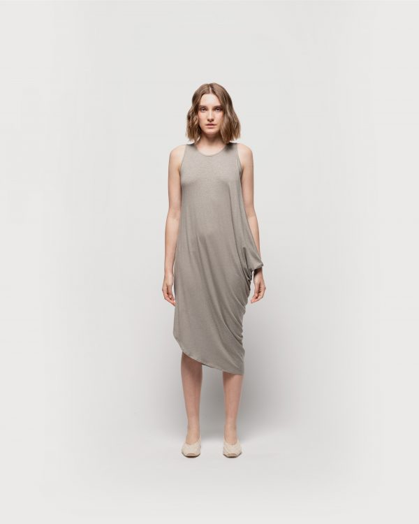 Side Draped Dress