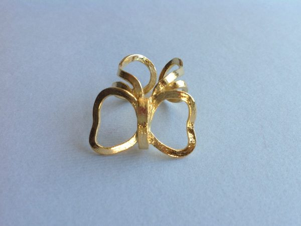 Butterfly Handmade Gold Ring