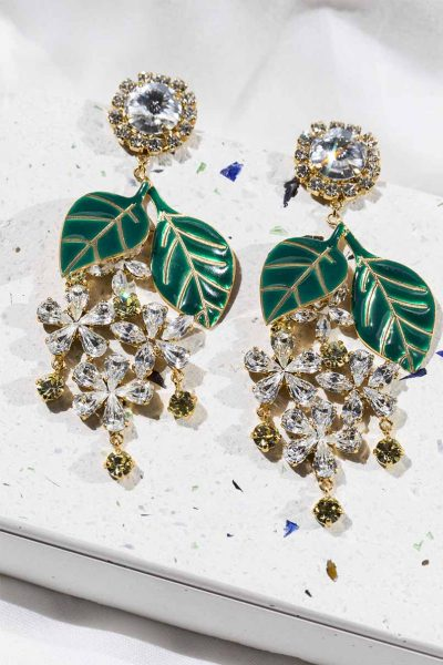 Jasmine Long Earrings