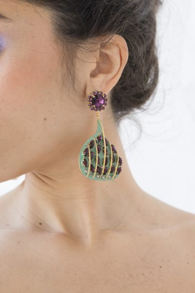 Fig Long Earrings