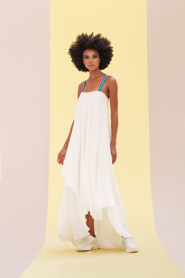 Swing White Dress