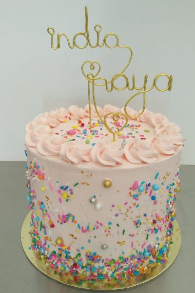 Customized Cake 2 Words Topper