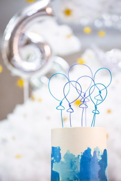 Customized Cake Shape Topper
