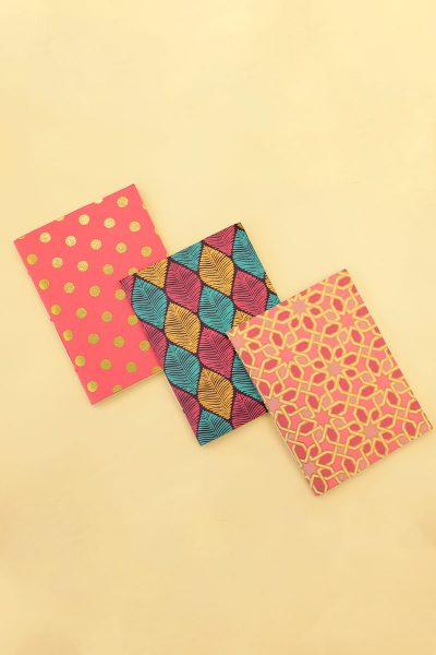 Pack of 3 Multi Notebook
