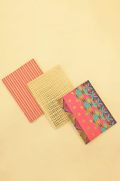 Pack of 3 Multi Color Notebook