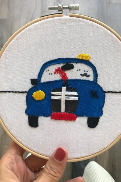 Embroidered Service