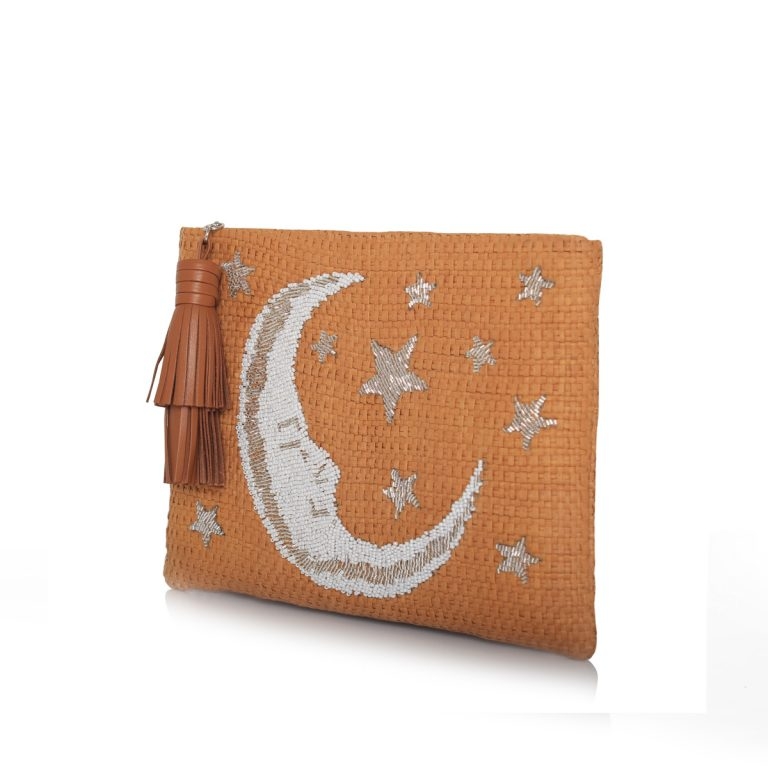 Moon Straw Pouch