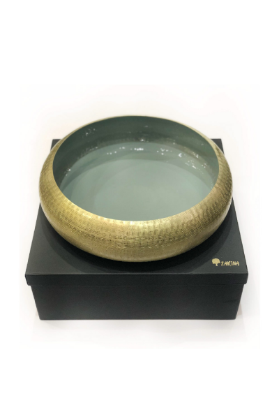 Tyre Bowl Dark Small Green