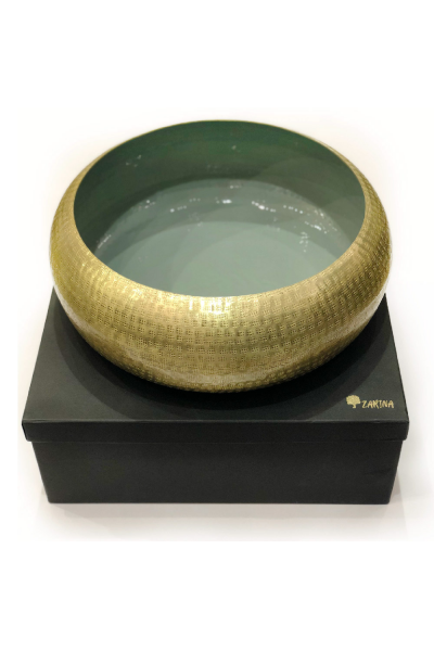 Tyre Bowl Dark Green