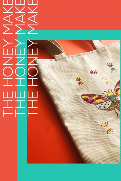 The Honey Maker Tote Bag