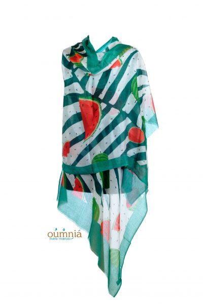 Watermelon Design Scarf