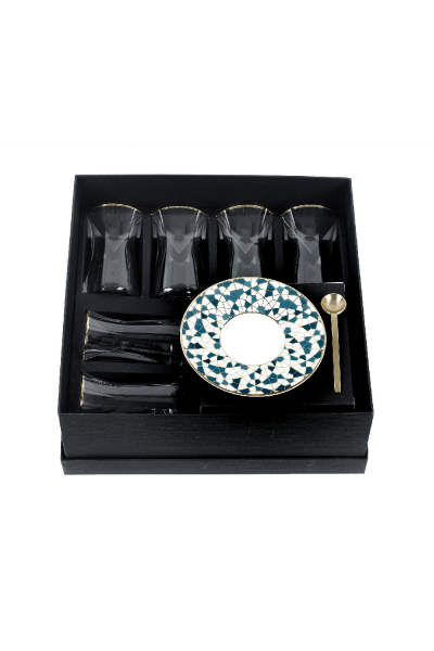 Isitikana Plate And Cup Tri Set Of 6